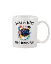 Just A Girl Who Loves Pug Mug thumbnail