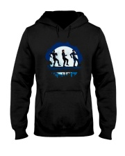 Dancing Through The Night Hooded Sweatshirt tile