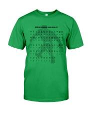 Modern Wakandan Translation Key Classic T-Shirt thumbnail