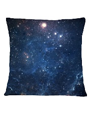 I Will Sit With You In The Dark Square Pillowcase back
