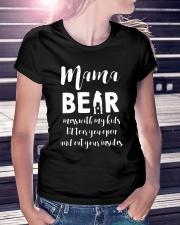 Mama Bear Ladies T-Shirt lifestyle-women-crewneck-front-7