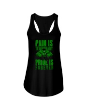 Pain Is Temporary Pride Is Forever Ladies Flowy Tank front