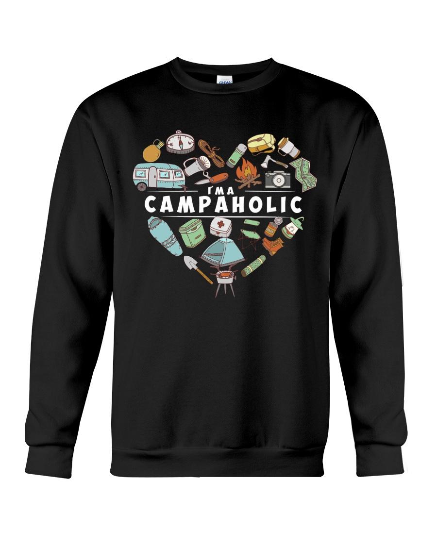I'm A Campaholic Crewneck Sweatshirt