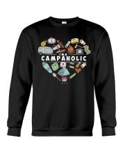 I'm A Campaholic Crewneck Sweatshirt thumbnail