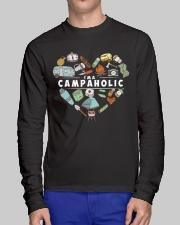 I'm A Campaholic Long Sleeve Tee lifestyle-unisex-longsleeve-front-1