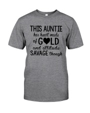 This Auntie Has Heart Made Of Gold Classic T-Shirt thumbnail