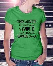 This Auntie Has Heart Made Of Gold Ladies T-Shirt lifestyle-women-crewneck-front-7