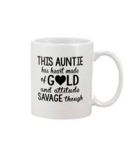 This Auntie Has Heart Made Of Gold Mug thumbnail