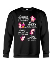 Live Like Heaven On Earth Crewneck Sweatshirt thumbnail