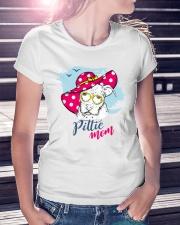 Pittie Mom Ladies T-Shirt lifestyle-women-crewneck-front-7