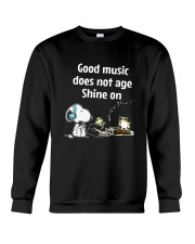 Good Music Does Not Age Crewneck Sweatshirt thumbnail
