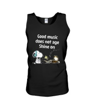 Good Music Does Not Age Unisex Tank thumbnail
