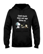 Good Music Does Not Age Hooded Sweatshirt thumbnail