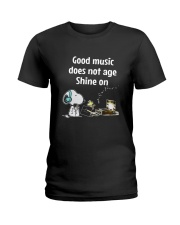 Good Music Does Not Age Ladies T-Shirt thumbnail