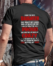 The Best Daughter Classic T-Shirt lifestyle-mens-crewneck-back-2
