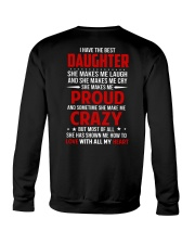 The Best Daughter Crewneck Sweatshirt thumbnail