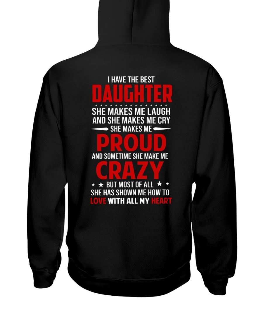 The Best Daughter Hooded Sweatshirt