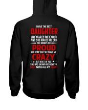 The Best Daughter Hooded Sweatshirt back