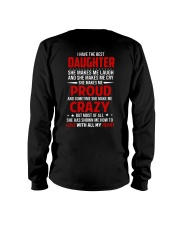 The Best Daughter Long Sleeve Tee tile