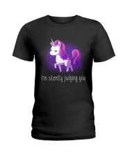 I'm Silently Judging You Ladies T-Shirt tile