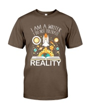 I Am A Writer Classic T-Shirt front