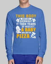 This Body Wasn't Built Overnight Long Sleeve Tee lifestyle-unisex-longsleeve-front-1