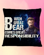Great Beard  Square Pillowcase aos-pillow-square-front-lifestyle-9