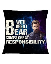 Great Beard  Square Pillowcase front