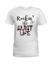 Rockin' The Aunt Life Ladies T-Shirt front