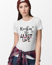Rockin' The Aunt Life Ladies T-Shirt lifestyle-women-crewneck-front-9