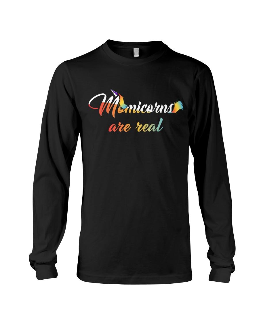 Momicorns Are Real Long Sleeve Tee