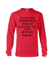 Don't Be Jealous Long Sleeve Tee front