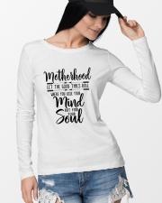 Motherhood Long Sleeve Tee lifestyle-unisex-longsleeve-front-4
