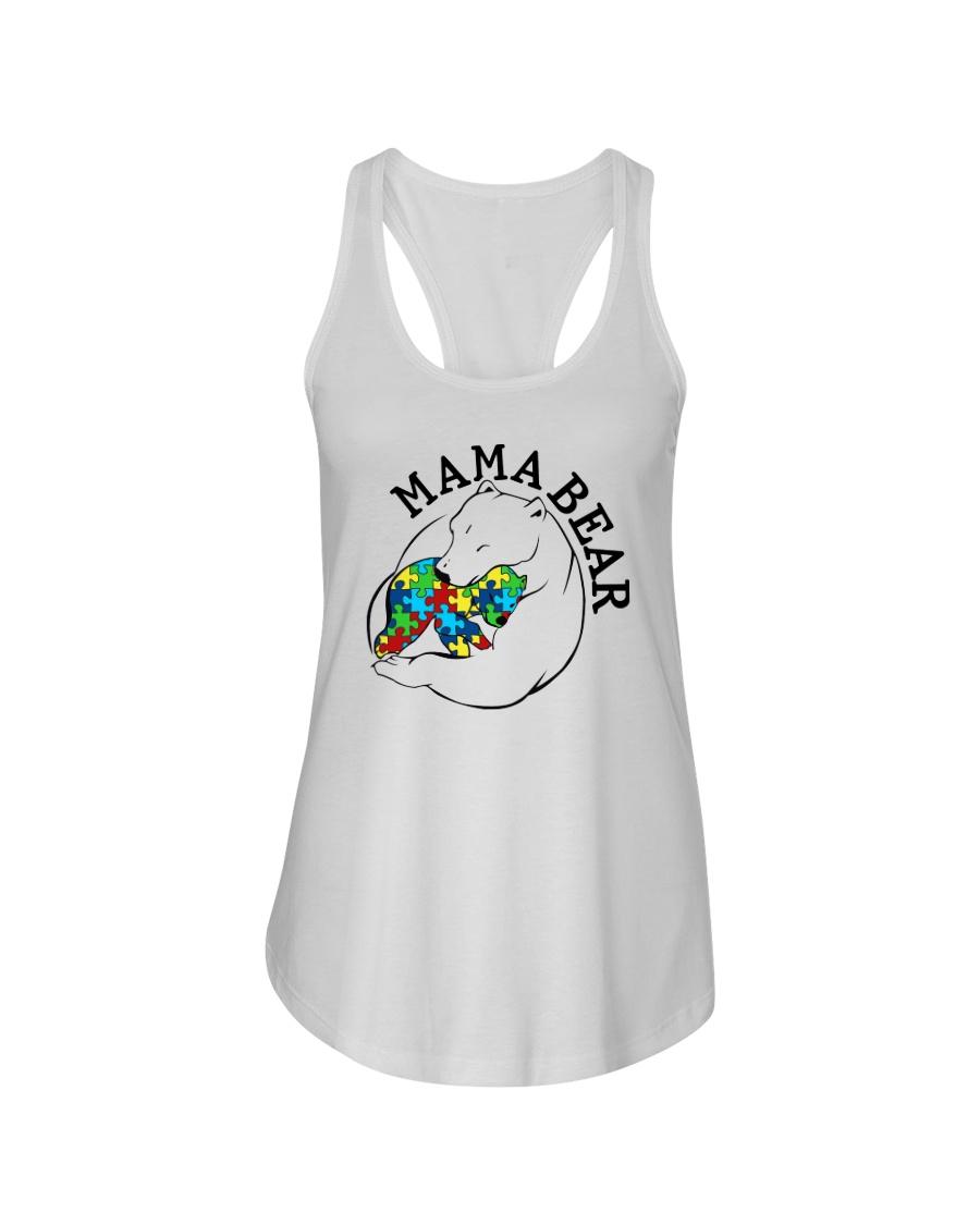 Mama Bear - Autism Shirt Ladies Flowy Tank