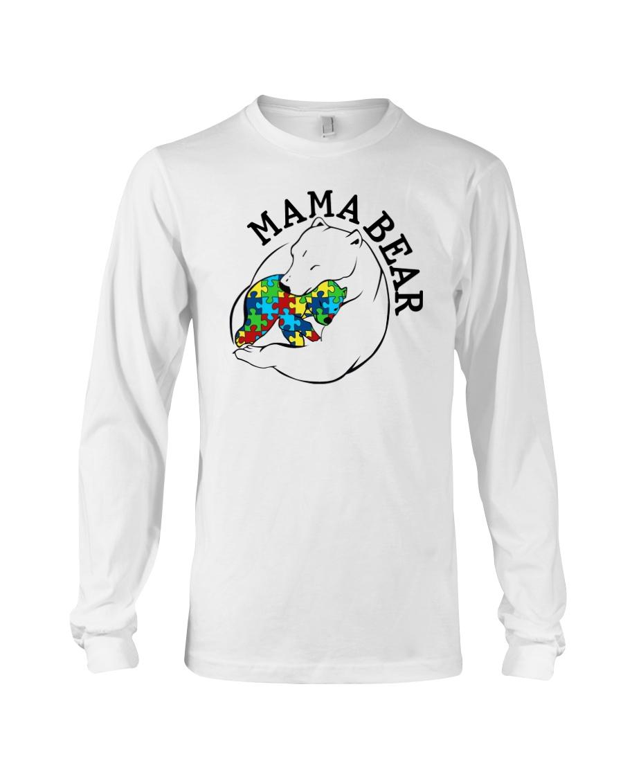 Mama Bear - Autism Shirt Long Sleeve Tee