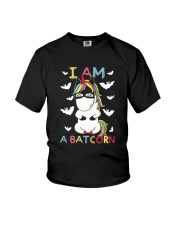 I Am A Batcorn Youth T-Shirt front