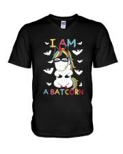 I Am A Batcorn V-Neck T-Shirt thumbnail