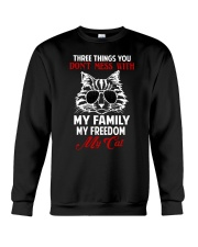 Three Things You Don't Mess With Crewneck Sweatshirt tile
