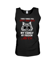 Three Things You Don't Mess With Unisex Tank thumbnail