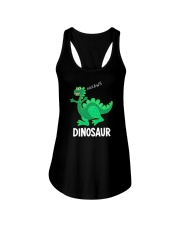Dinosaur Ladies Flowy Tank thumbnail