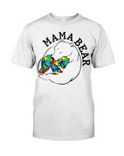 Mama Bear - Autism Shirt Classic T-Shirt thumbnail