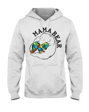 Mama Bear - Autism Shirt Hooded Sweatshirt thumbnail