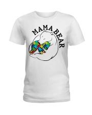 Mama Bear - Autism Shirt Ladies T-Shirt front
