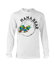 Mama Bear - Autism Shirt Long Sleeve Tee thumbnail