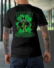 Kiss Me And I'm Touching You Tonight Classic T-Shirt lifestyle-mens-crewneck-back-3