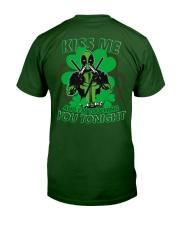 Kiss Me And I'm Touching You Tonight Classic T-Shirt thumbnail