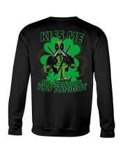Kiss Me And I'm Touching You Tonight Crewneck Sweatshirt tile