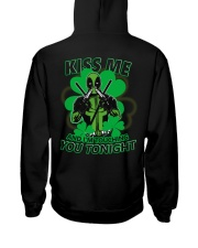 Kiss Me And I'm Touching You Tonight Hooded Sweatshirt tile