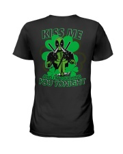 Kiss Me And I'm Touching You Tonight Ladies T-Shirt thumbnail