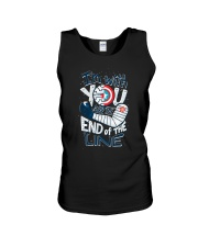 I'm With You Till The End Of The Line Unisex Tank tile